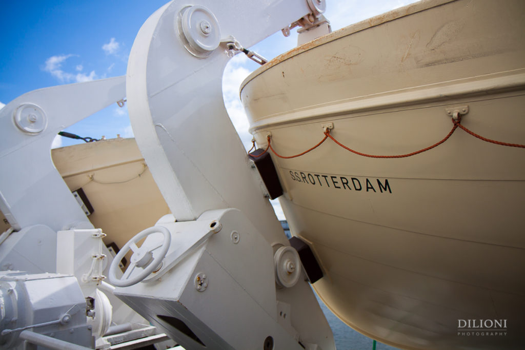 Life boat SS Rotterdam